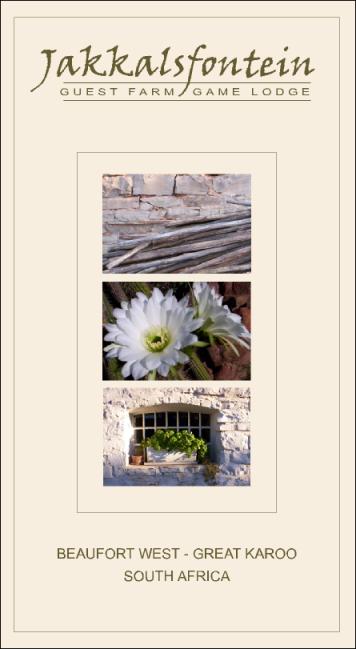Jakkalsfontein brochure