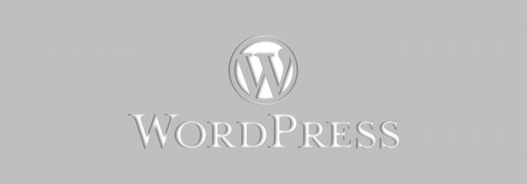 WordPress banner image.