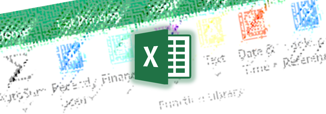Microsoft Excel functions banner image.