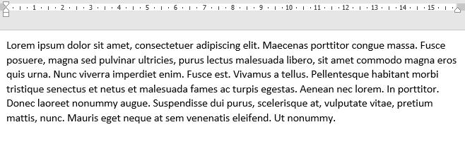 Hidden text in Microsoft Word.