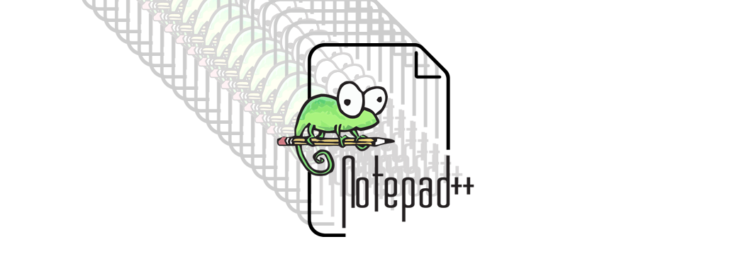 Notepad++ banner.