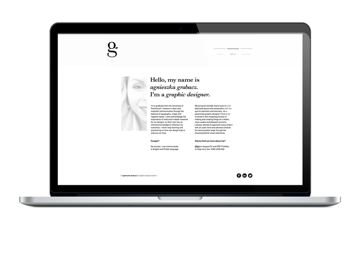 Whitespace in design