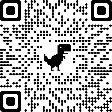 QR code generated by Google Chrome