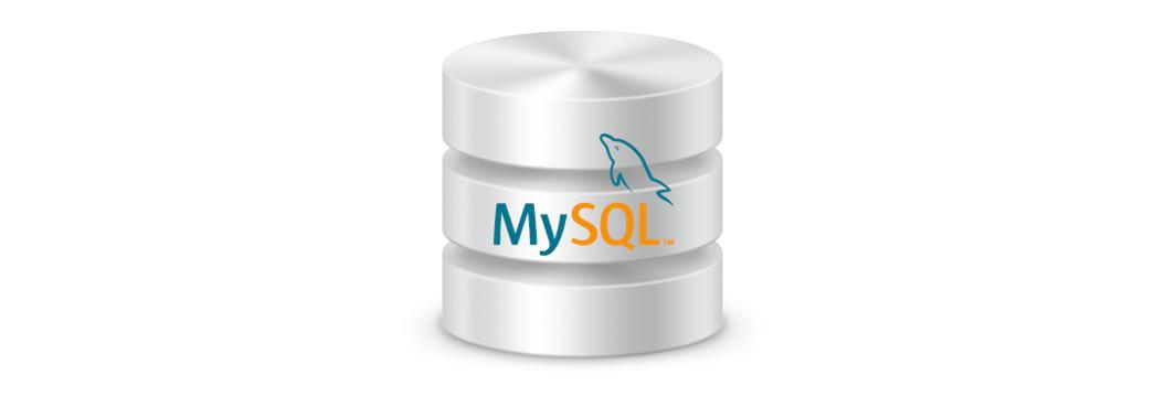 MySQL database banner