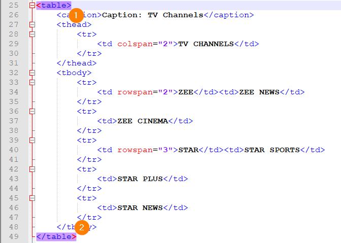 Notepad++ code matching tags selection