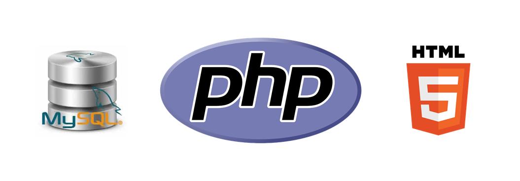 MySQL, PHP & HTML5 banner