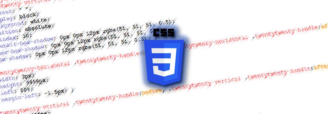 CSS banner image.